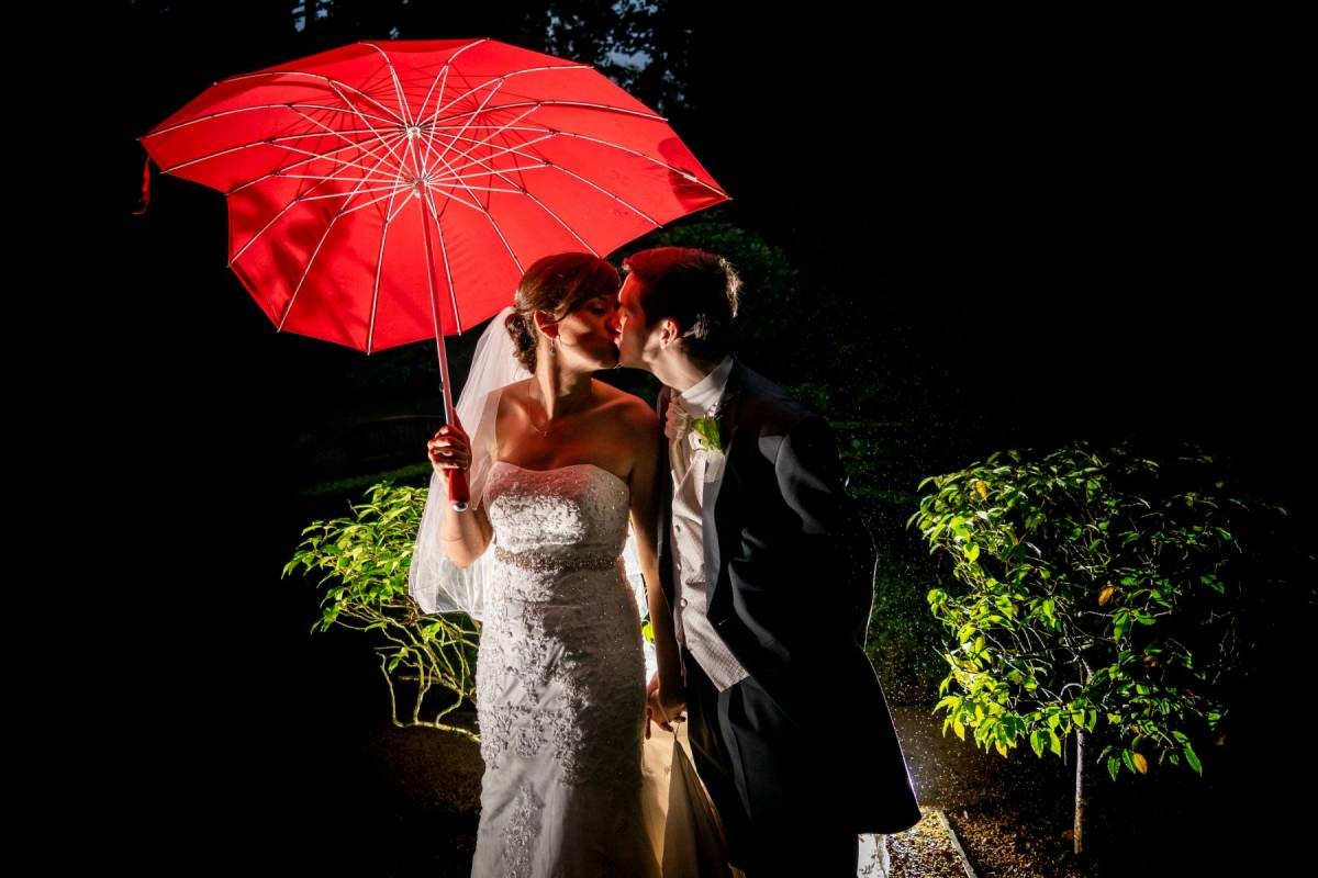 """Sunset, """"Singing in the Rain"""" and Sparklers"""