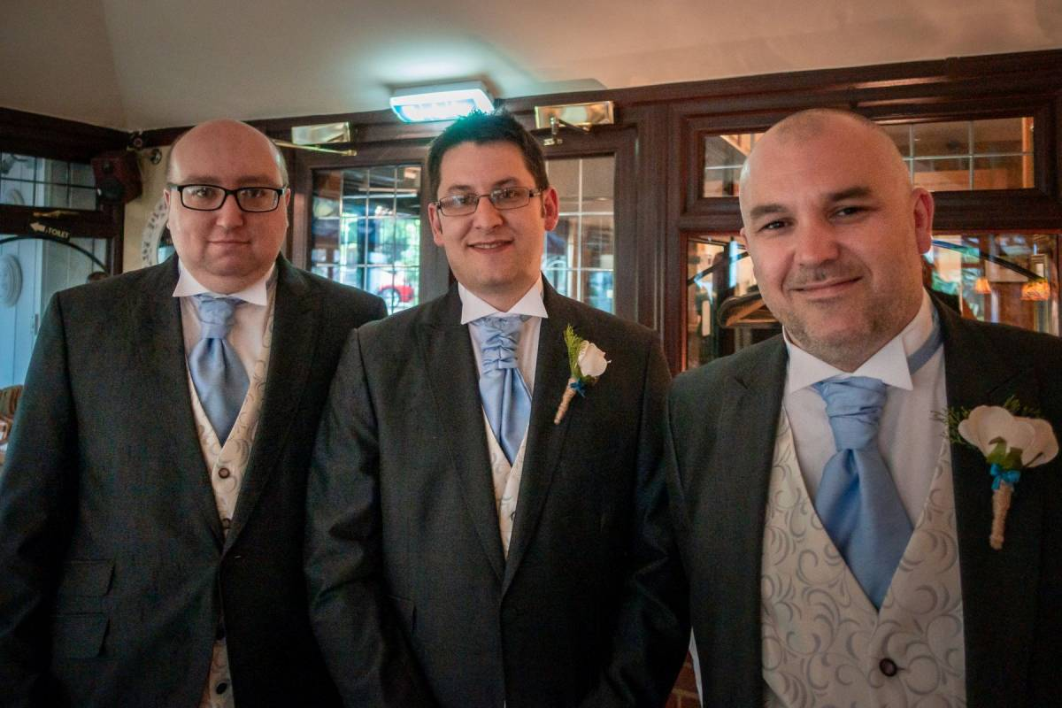 Groomsmen and their suits – hire or buy?