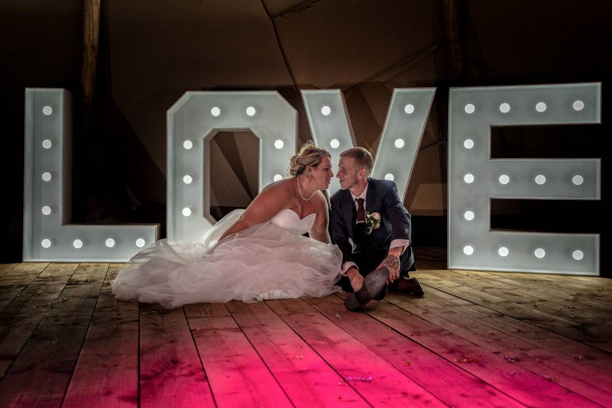 Your Favourite Frame Wedding Photography Love in lights