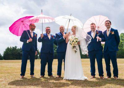 YFFUK Phil Endicott Flinders Whittlebury Hall Northamptonshire bridal party group photo