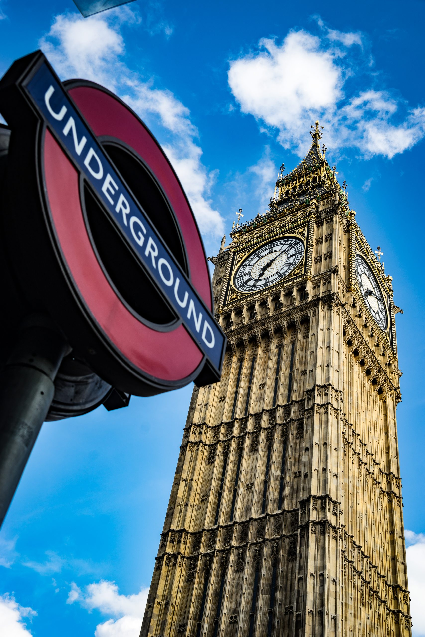 YFFUK PHil Endicott Big Ben with the underground sign who I am and why i do what I do