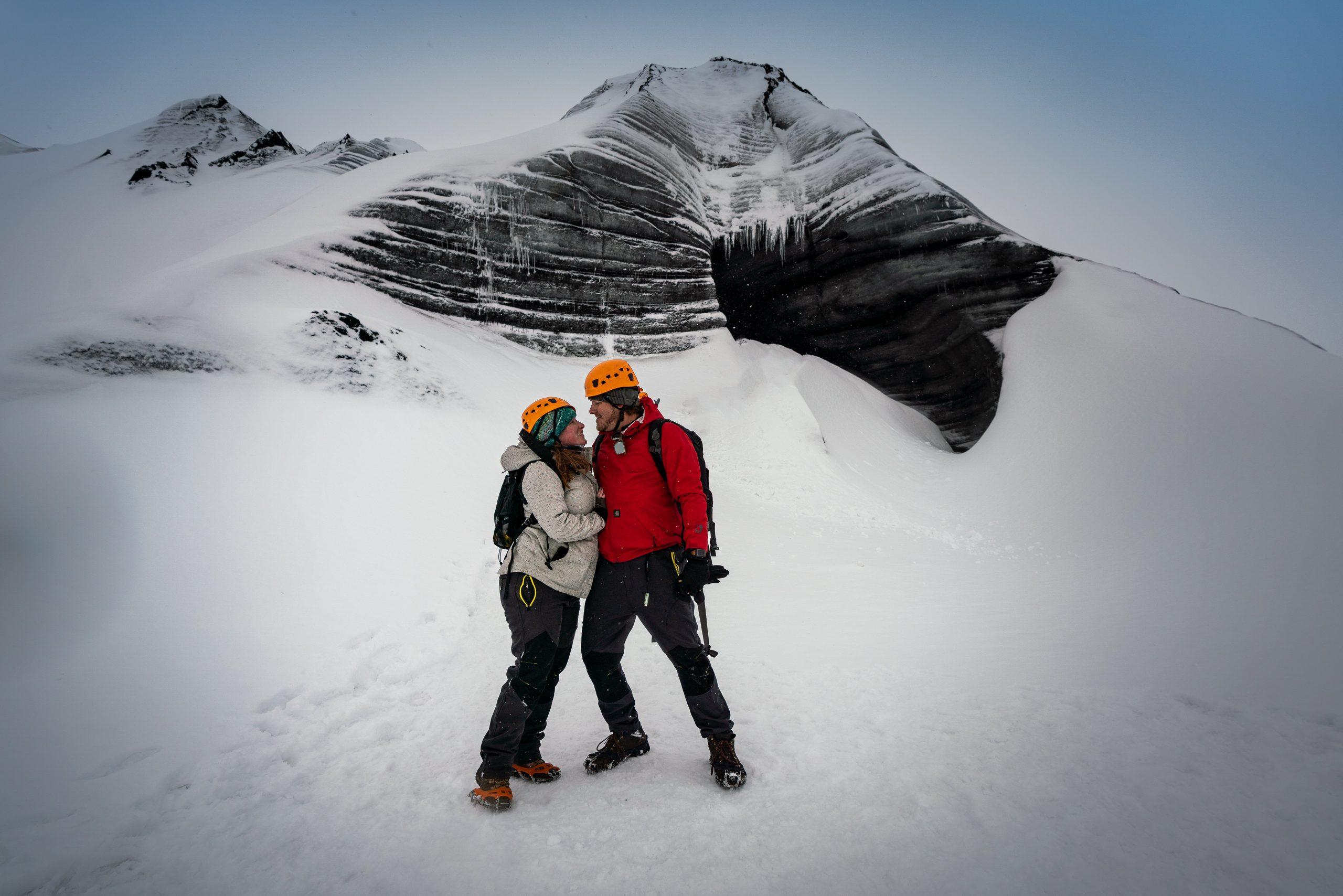 YFFUK Phil Endicott Morgan Myrdalsjokull Iceland engagement story 1