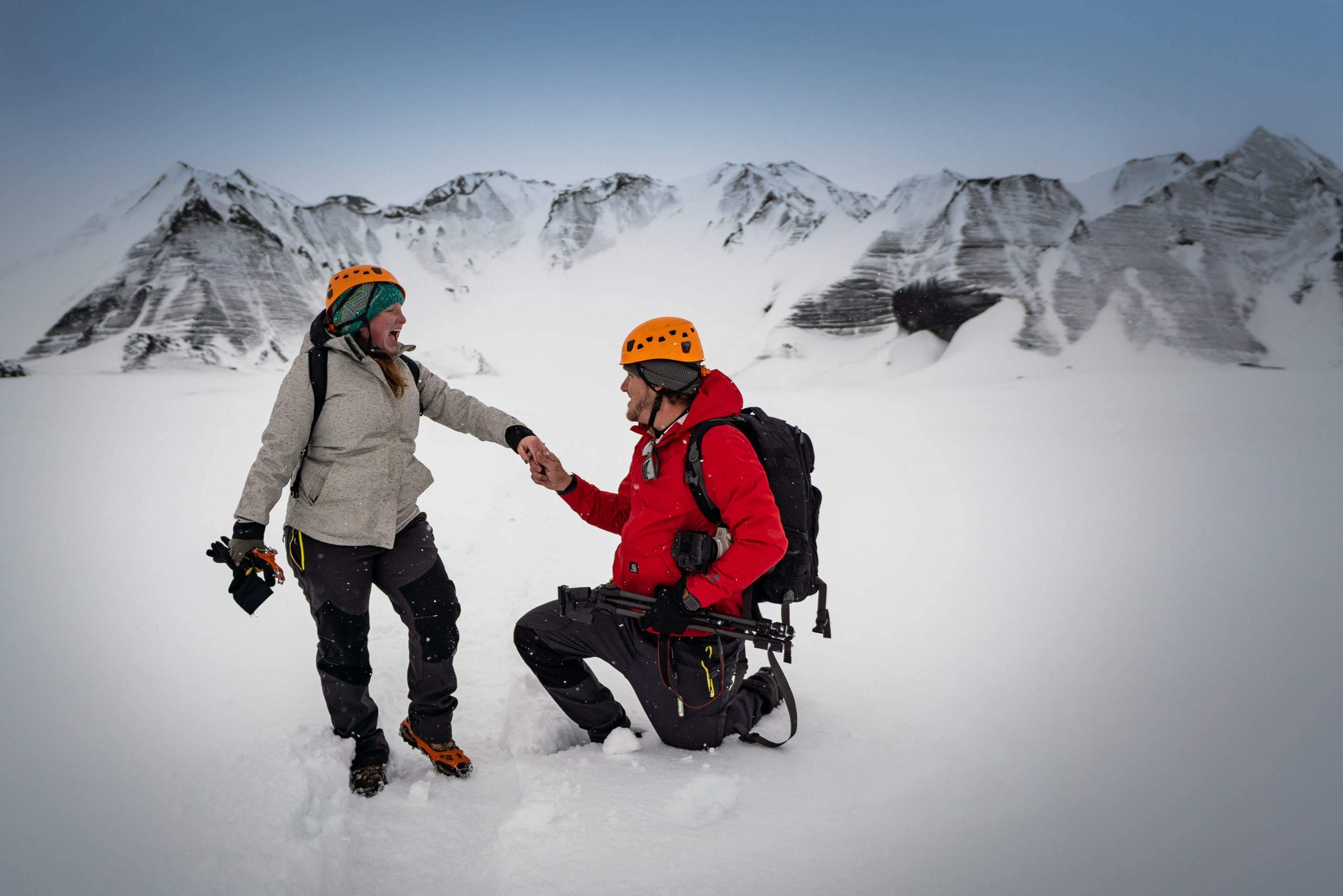 YFFUK Phil Endicott Morgan Myrdalsjokull Iceland engagement story 3