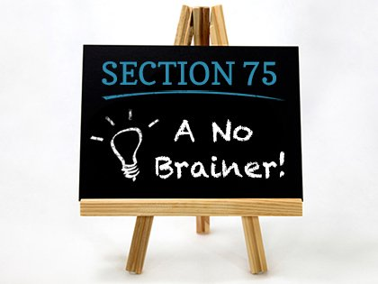 section75no brainer