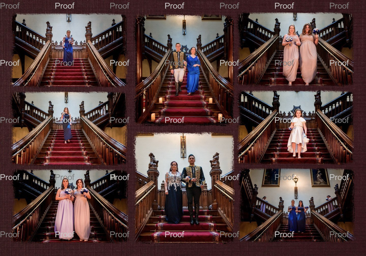 YFFUK Phil Endicott Hutchinson wedding albums a look inside from Allerton Castle Knaresborough4