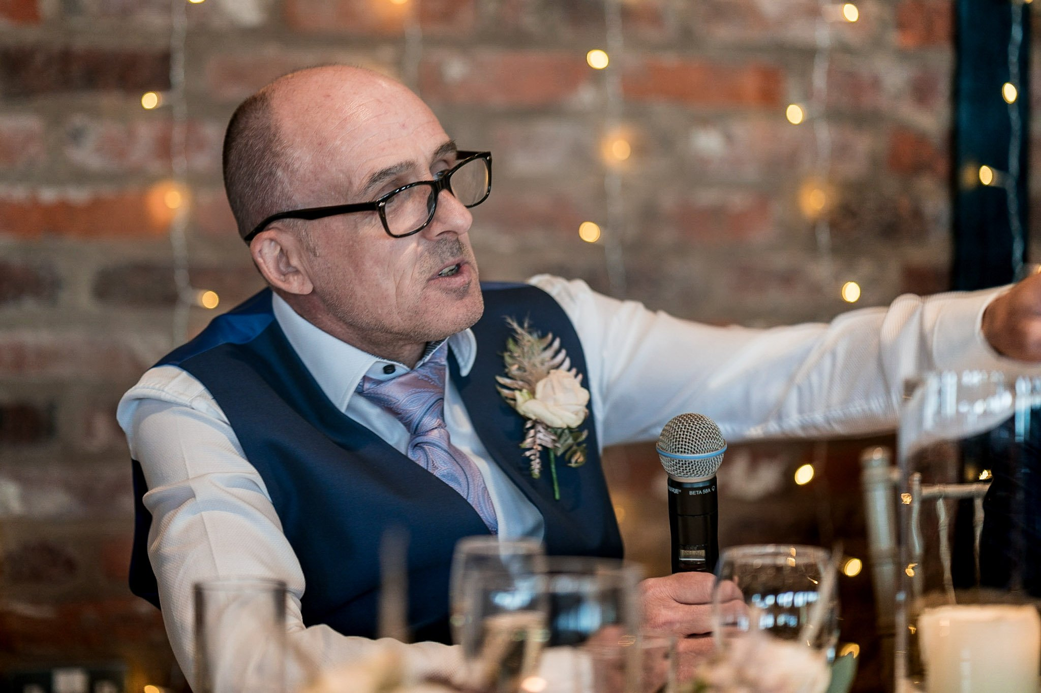 Your Favourite Frame YFFUK Mwasuku Norton Fields Atherstone father of the bride toasting the bride and groom