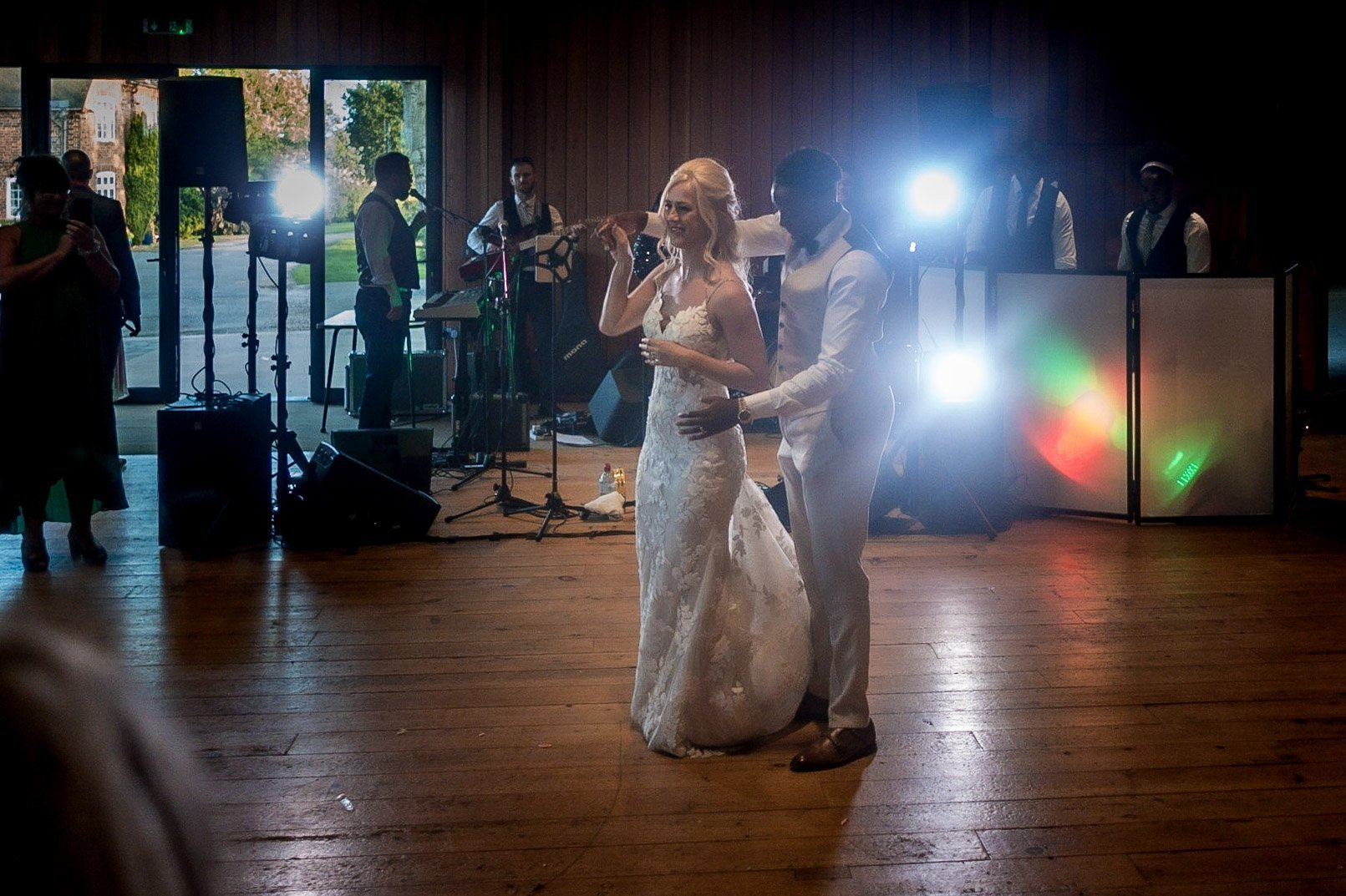 Your Favourite Frame YFFUK Mwasuku Norton Fields Atherstone first dance moment bride and groom