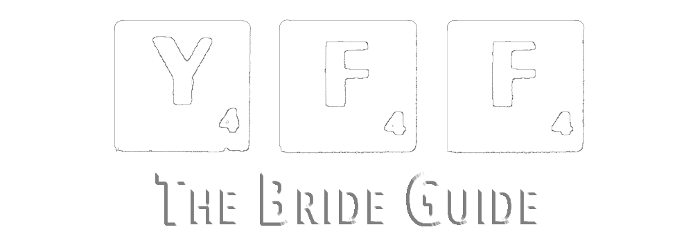 The Bride Guide by Your Favourite Frame Weddings Photography YFFUK